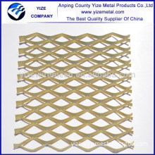 aluminum small hole niagara patterns expanded metal mesh / interior expanded metal ceiling