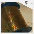 Eco-friendly Golden Holographic Tear Tape with 0.2cm Width