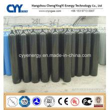 Low Price 50L High Pressure Carbon Dioxide Argon Oxygen Nitrogen Seamless Steel Cylinder