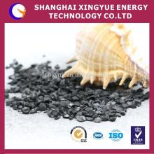 Carvão ativado granulado ativo / carbono ativado de porca de adsorção alta