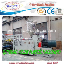 plastic extruder machine for plastic PE PVC pipes manufacture