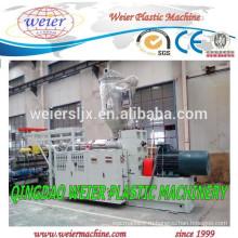 Пластиковые Экструдер машина для пластиковых ПВХ PE трубы производства
