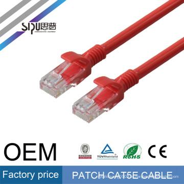 SIPU venta caliente de alta calidad 305 metros utp cat5e lan cable de red precio de 4 pares con cat5 puente de alambre