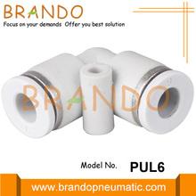 Conector de mangueira de ar pneumático de cotovelo de união de 1/8 polegada