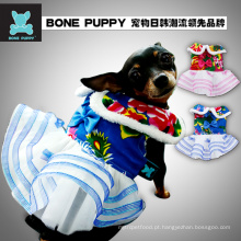 Atacado fiower Design Festival Pet Dog filhote de cachorro vestido de noiva roupas