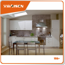 OEM Thermo foam Flat Panel PVC Kitchen Cabinet