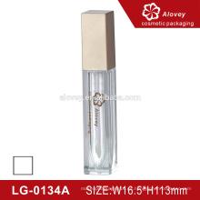 Cosméticos labio cuadrado brillante mate tubo impermeable logotipo privado