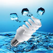 Lámpara ahorro de energía espiral en blanco de 25W T4 con el precio barato (BNF-HS-F)