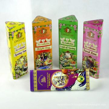 Boîte en étain cadeau promotionnel, Boîte en étain en métal, Boîte en étain à biscuits aux bonbons