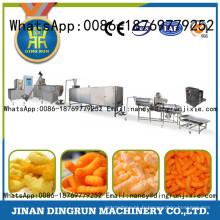 Extrudeuse de nourriture de casse-croûte de maïs de la production 100kg / h-450kg / h différente
