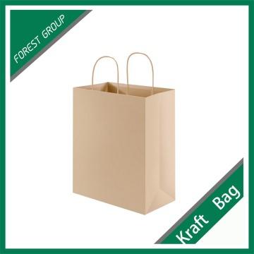 Custom Brown Cheap Recycled Kraft Bag