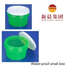 Sealed Waterproof Green Color Plastic Storage Bottle