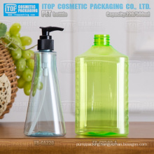 220ml-500ml wide application special oval shape good quality color customizable standard neck size wholesale pet bottle