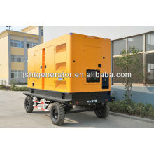 Generador silencioso móvil de 150KVA CUMMINS con el CE