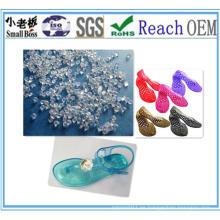 Gránulos de PVC para zapatos