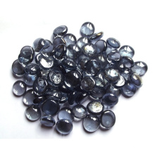 Perles en verre plat