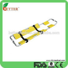 Aluminum emergency Folding scoop stretcher with bag