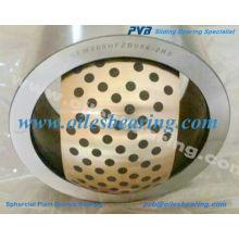dg 04 casquillo de bronce esférico esférico, GE.ES casquillo liso esférico radial lubricado con aceite, rodamiento de bronce esférico autolubricante