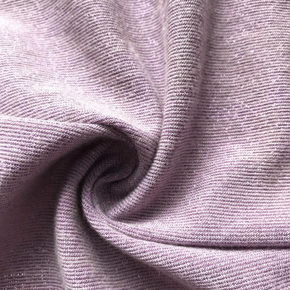 Pink lurex metallic shinny fashion dress fabric