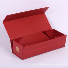 Benutzerdefinierte Größe und Logo Faltkarton Geschenkbox mit Magnetverschluss
