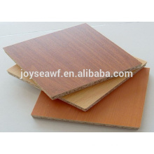 moisture proof 1220X2440 1830X2440 1830 X3660 melamine faced chipboard