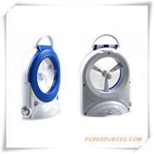 Multi-Function mit Emergency LED Licht Elektronischer Lüfter für Promotion