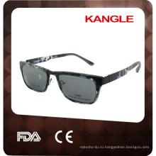 2017 новые металлические оправы с зажимом на солнцезащитные очки