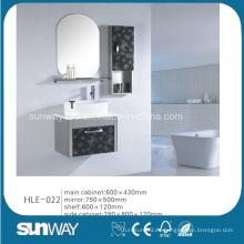 Diseño de moda pared colgada de acero inoxidable gabinete