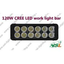 Luz do carro do diodo emissor de luz do CREE de 120W 4X4, fora da estrada, auto condução do diodo emissor de luz da barra clara do diodo emissor de luz