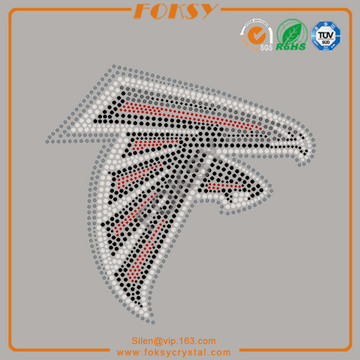 NFL Arizona Cardinals hot fix strass transferencias