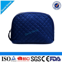 Quilted pattern cheap high quality women beauty handbag cosmetic bag for ladies make up bag
