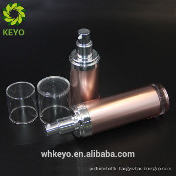 Cosmetic packaging cream 50 ml skincare cream packaging liquid foundation rose gold for personal care