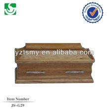 caixões do bebê de madeira sólida