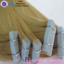 Grande bande de cheveux vierges de haute qualité Double bande de cheveux mini étirés