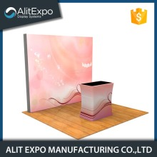 Acrylic easy dismantle lightweight trade show display booth