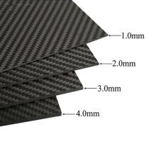 Customized diverse size high quality best price twill plain weave CNC carbon fiber sheet