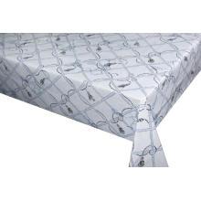 Elegante mantel en relieve con respaldo no tejido