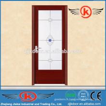 JK-AW9009 cadre de porte en aluminium / porte en aluminium porte en verre / profil de porte en aluminium