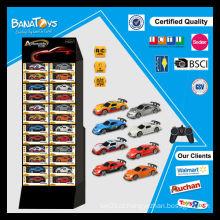 Novo produto rádio brinquedo de controle remoto com caixa pdq miúdos carro elétrico