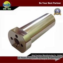 Peças de giro fazendo à máquina niqueladas de bronze do CNC das peças do CNC