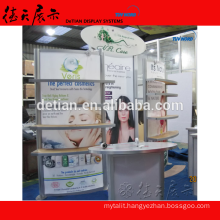 10 by 10 feet booth stand exhibition stand, small booth design for trade show