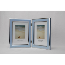 Plastic Double Open Photo Frame (BH-4)