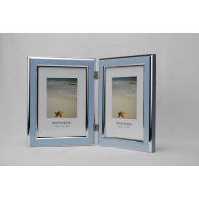 Пластиковый двойной открытой фото рамка (BH-4)