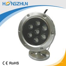 O melhor preço para a luz subaquática 12v / 24v RGB cor CE e ROHS certificação