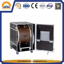 Flightcase grande de aluminio, estuche para instrumentos para batería