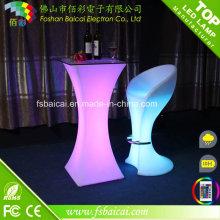 Table de bar à meuble léger à télécommande