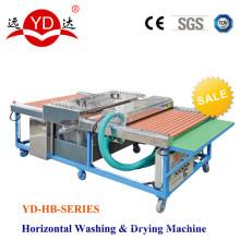 Machine à laver les machines de traitement du verre pour le verre
