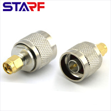 RF Straight Adapter SMA Male to N Male Adapter