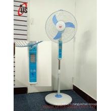 Ventilateur de support rechargeable de CC de 16 pouces LED (USDC-421)