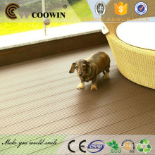 Wood plastic composite rubber wood decking